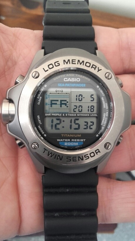 e549fb3764f2 reloj casio pathfinder titanio. Cargando zoom.