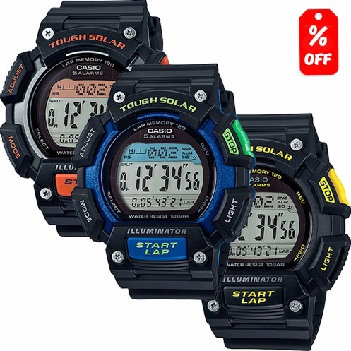 4faf7cfa7a63 Reloj Casio Phys Stls110 - 120 Memorias -solar - Led -cfmx ...