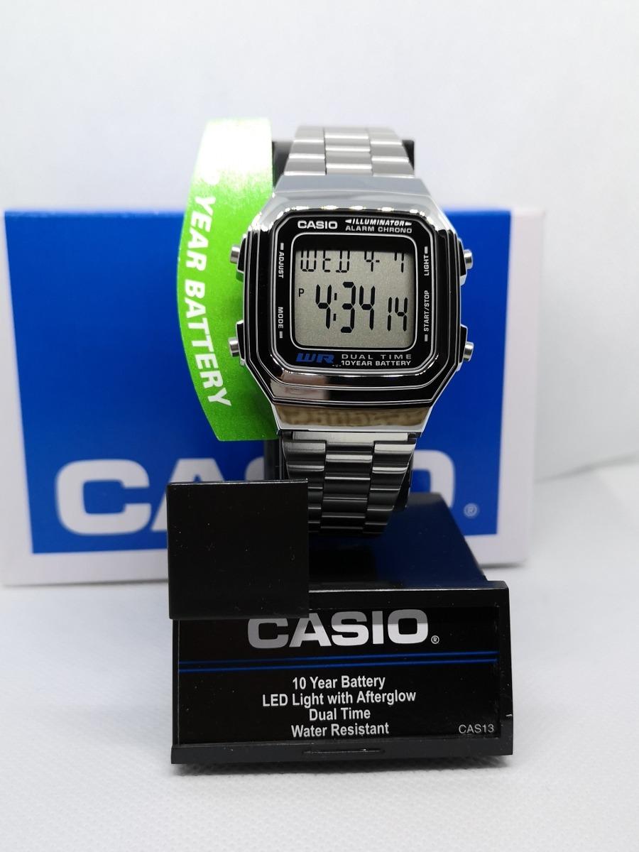 c61cbe956b3c Reloj Casio Plata A178w Clásico Retro Vintage Original -   459.00 en ...