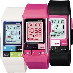 Ldf52 M Poptone Reloj Casio Colores Dama Varios 50 Wr nwP0k8ZNXO