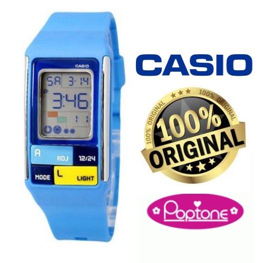 78d4d17c0a29 Reloj Casio Poptone Digital Cronometro Deportivo 134 -   750.00 en ...