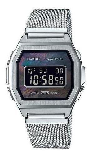 reloj casio premium vintage perla a1000m-1b