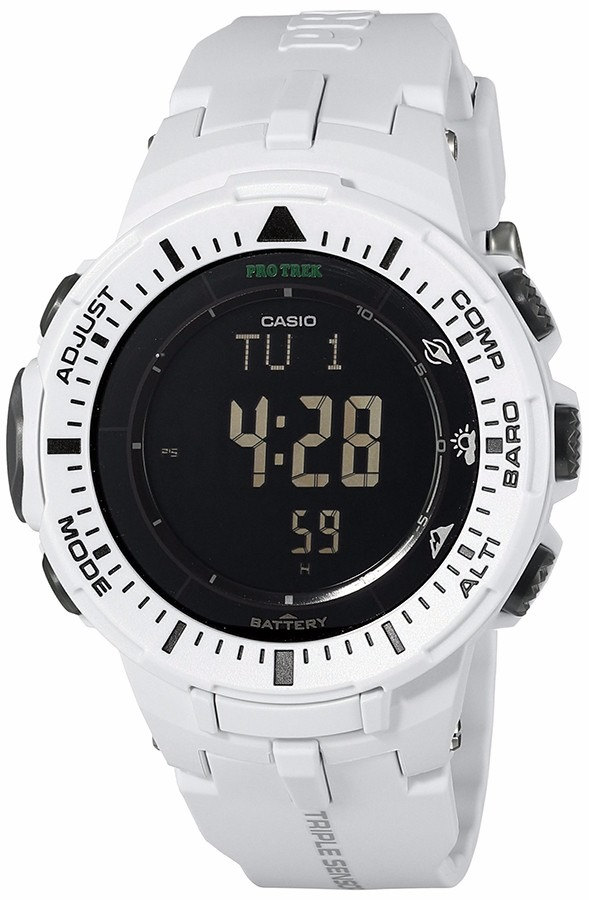832e2bebd2ed reloj casio prg-300-7cr pro trek 47mm solar triple sensor. Cargando zoom.