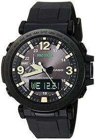Reloj Casio Prg 600y 1cr Trek Triple Sensor Multifunction