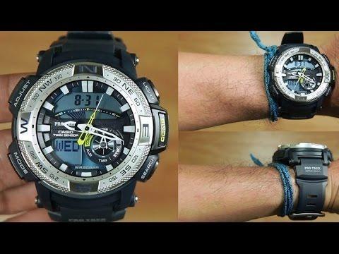 510f685cdfbf Reloj Casio Pro Trek Prg 280 - Brujula Y Termometro -   11.700