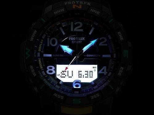 reloj casio protrek connected prt-b50-1 sensor