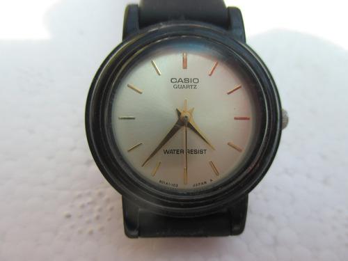 reloj casio pulsera dama quartz modelo lq-139