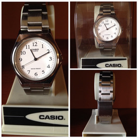 Reloj Casio Quartz  Original Caballero Acero Inoxidable