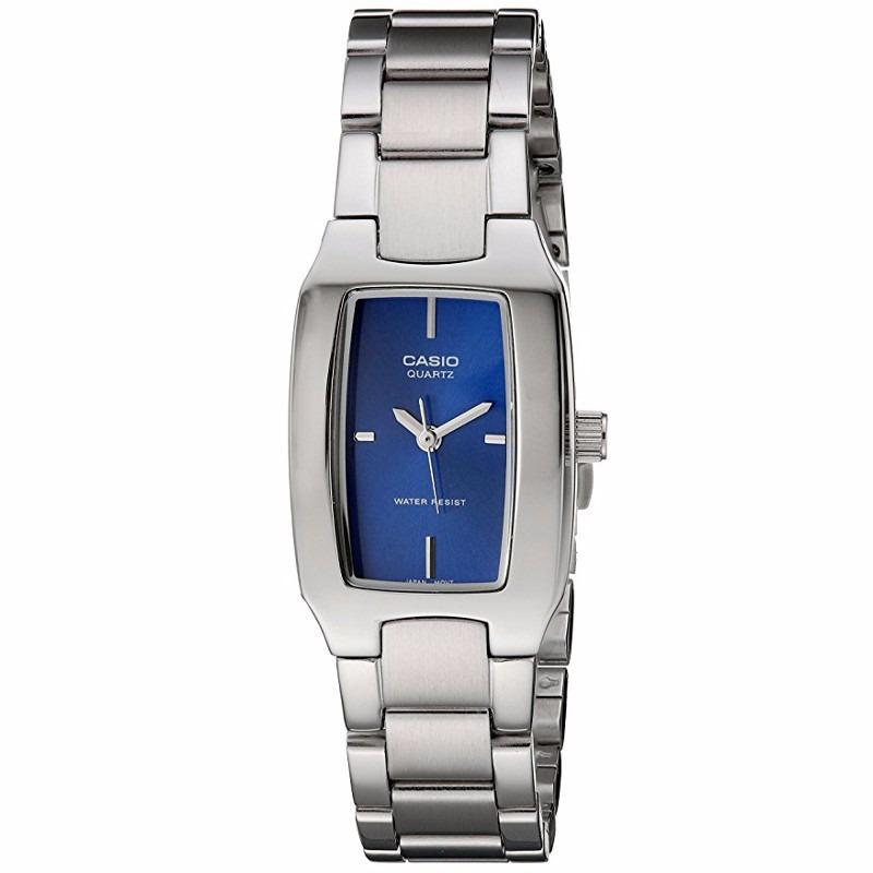 d5383c096826 reloj casio quartz analógico ltp1165a-4c mujer color azul. Cargando zoom.
