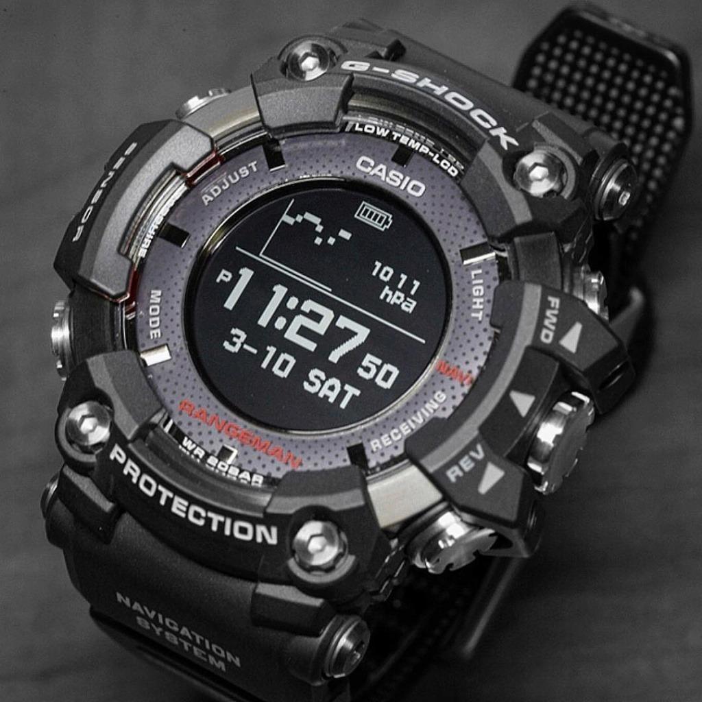 db39043efab2 Reloj Casio Rangeman Gpr-b1000-1b Triple Sensor Gps G-shock ...
