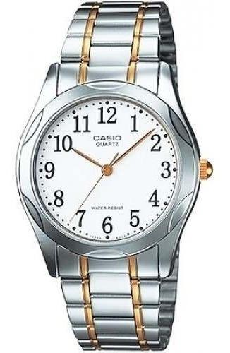 reloj casio resistente mtp 1275 caballero hogar y camping