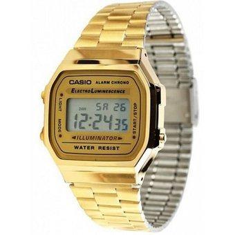 Reloj casio para dama dorado
