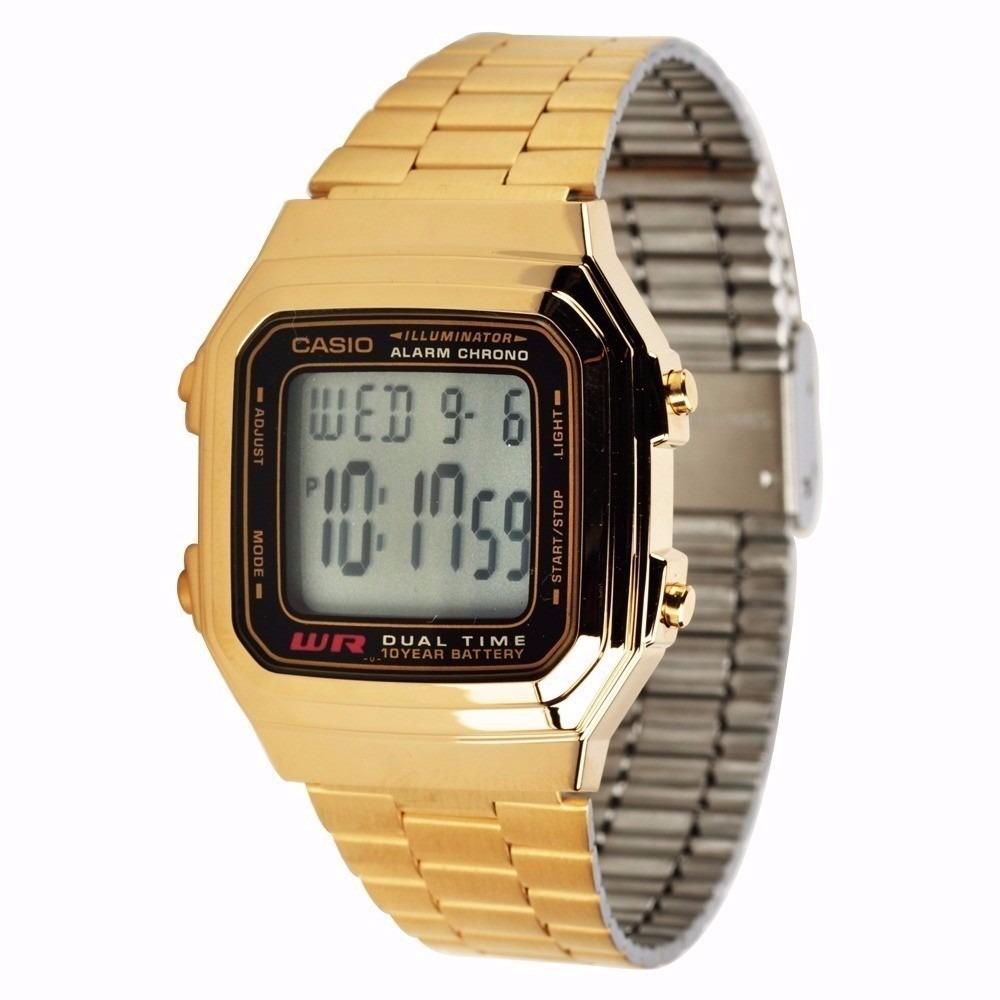 ab4832241135 reloj casio retro a178 dorado - original - nuevo - unisex. Cargando zoom.