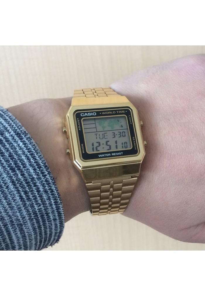 1d Unisex Retro Los Reloj Todos Estilos Casio Para A500wga n0vOm8wN