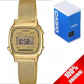 9a3a8b17d5a5 Reloj Casio Dorado Mujer - Reloj para de Mujer Casio en Mercado Libre México