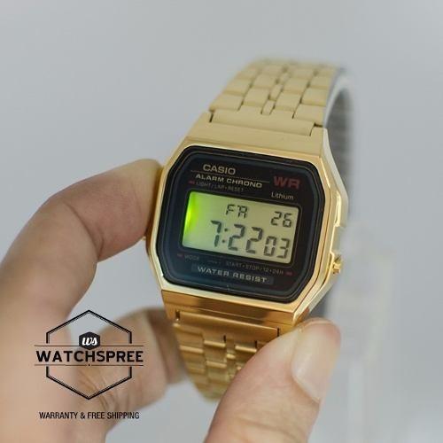 bf22aa251724 Reloj Casio Retro Dorado Y Plateado - Bs. 20.000