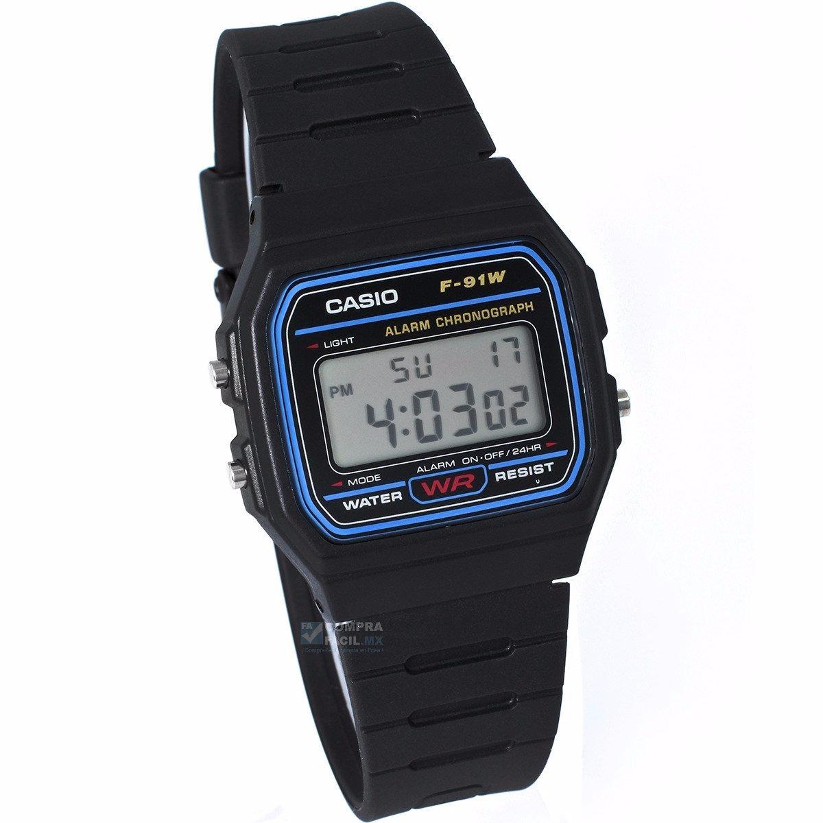 5542c9cd6505 Reloj Casio Retro F91 Moda Retro Vintage- 100% Original Cfmx ...