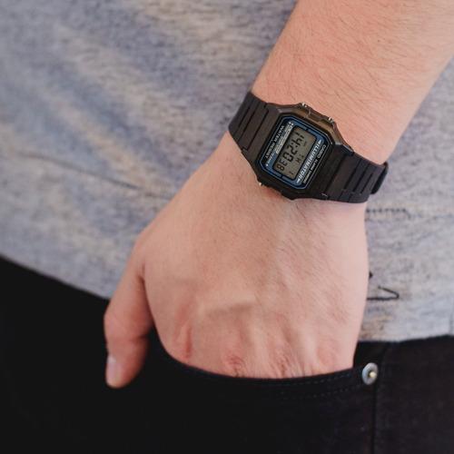 reloj casio retro illuminator f-105w envio gratis |w|