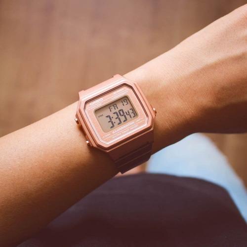reloj casio retro oro rosa b650wc