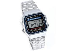 db2d8ccbfb0f Reloj Casio Retro A 168 Plateado - Relojes Casio en Mercado Libre Colombia