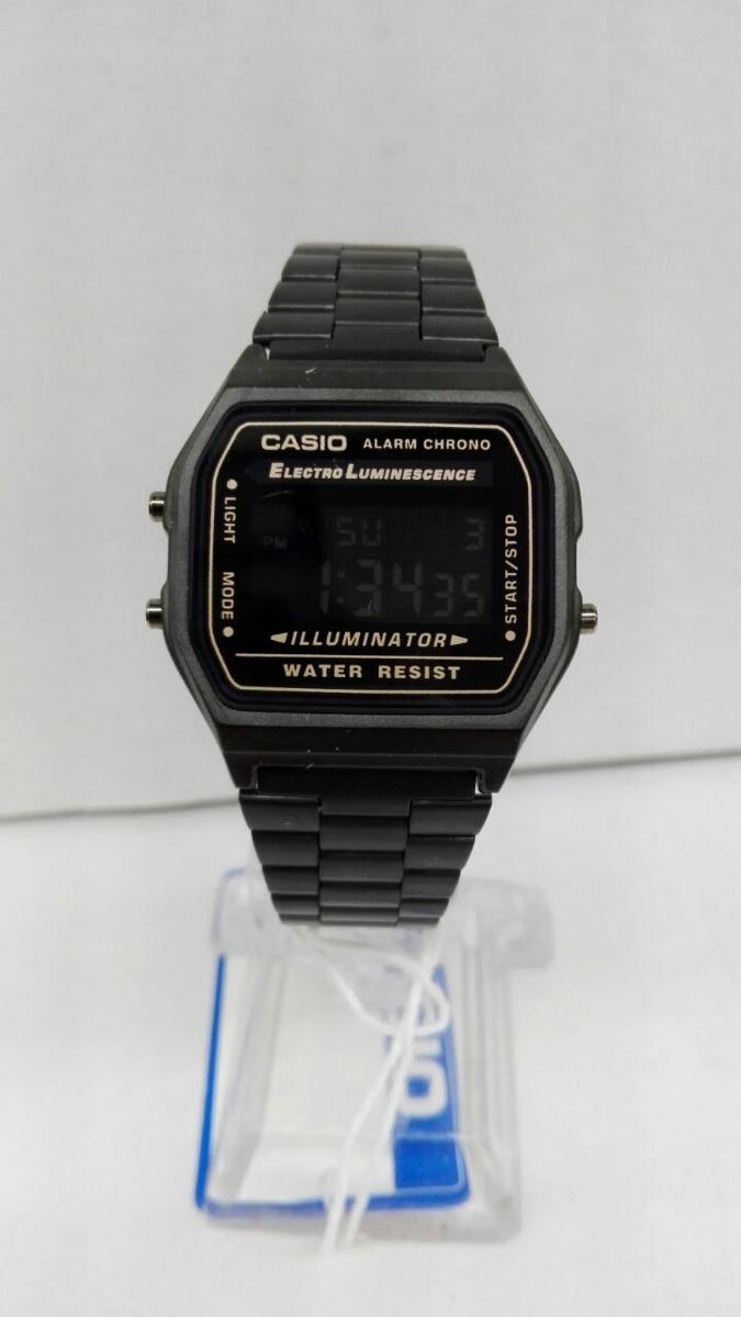 f219ca3fd299 reloj casio retro unisex negro digital nuevo clasico funcion. Cargando zoom.