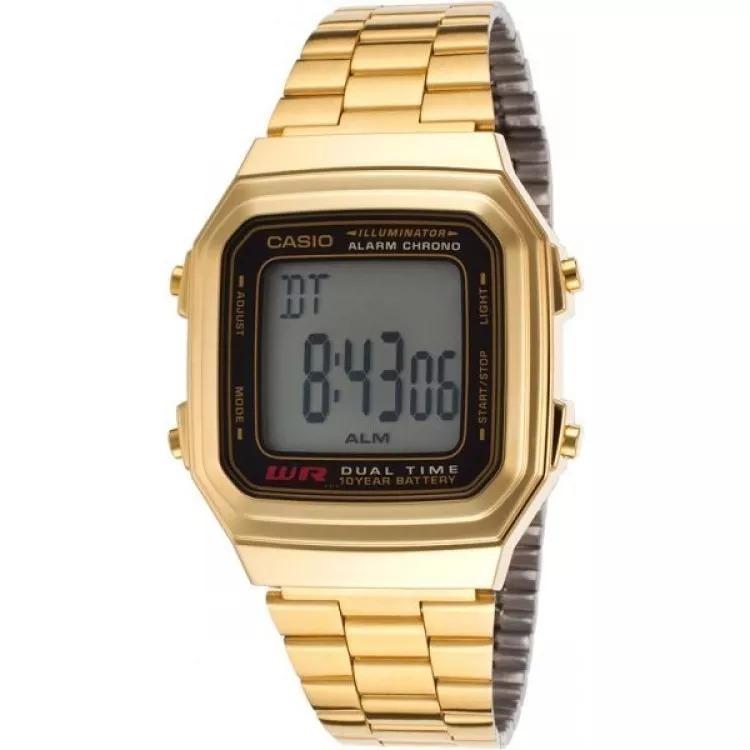 0c40ea7ccf75 Reloj Casio Retro Unisex Ref. A 178wga-1a Dorado -   159.900 en ...