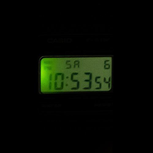 reloj casio retro vintage a-158wa-1   watchito  