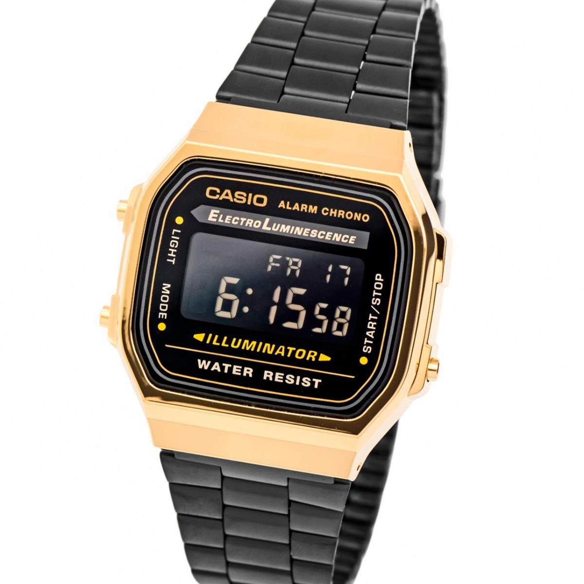 Retro Casio Cronografo 168wegb 1b Reloj A Vintage Xn0OPk8w
