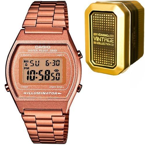 096e831d8b8 Reloj Casio Retro Vintage B640 Oro Rosa - Edición Limitada ...