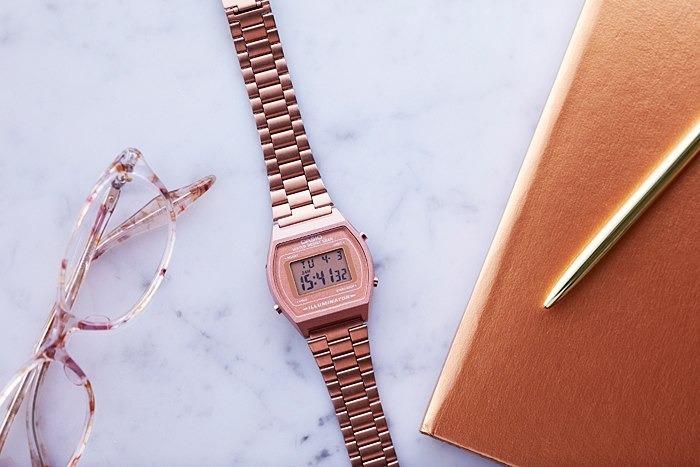 6bd739b6b010 Reloj Casio Retro Vintage B640 Oro Rosa - Envio Gratis -   1