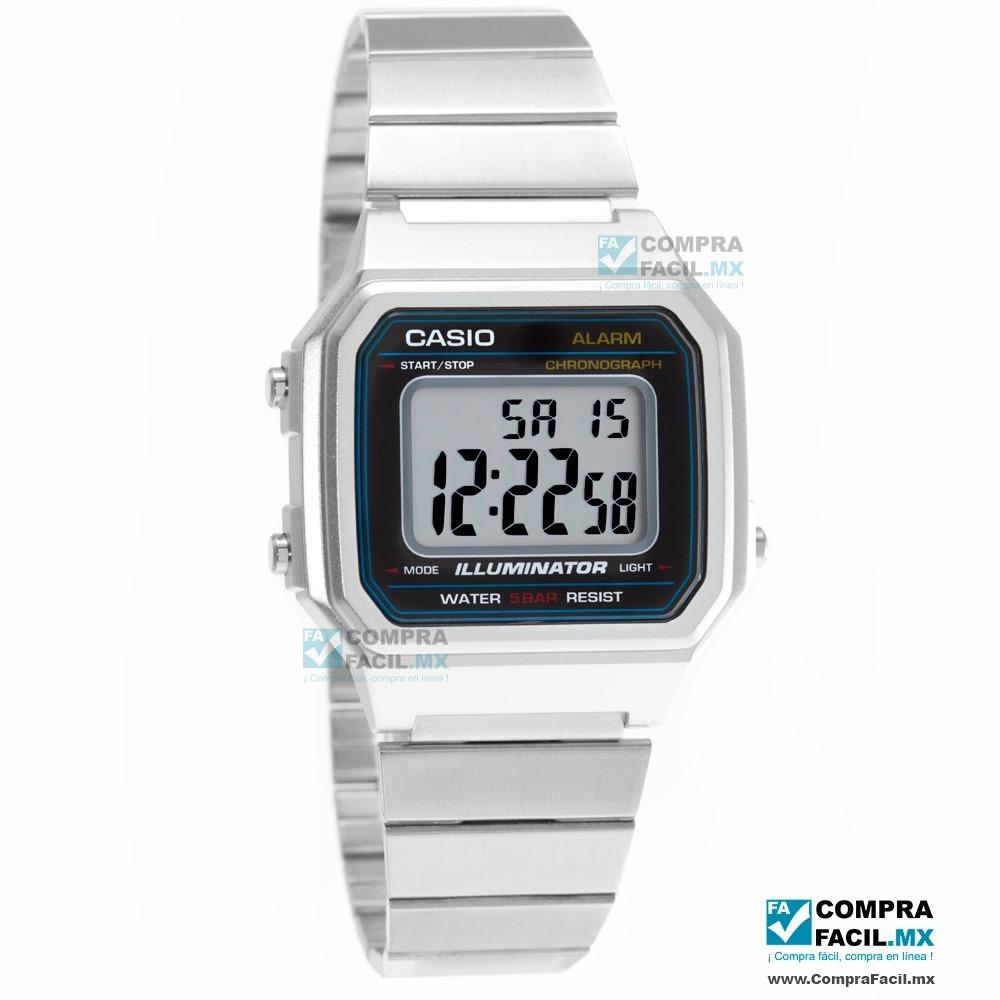 c631032cdb82 reloj casio retro vintage b650 plata - 100% original cfmx. Cargando zoom.
