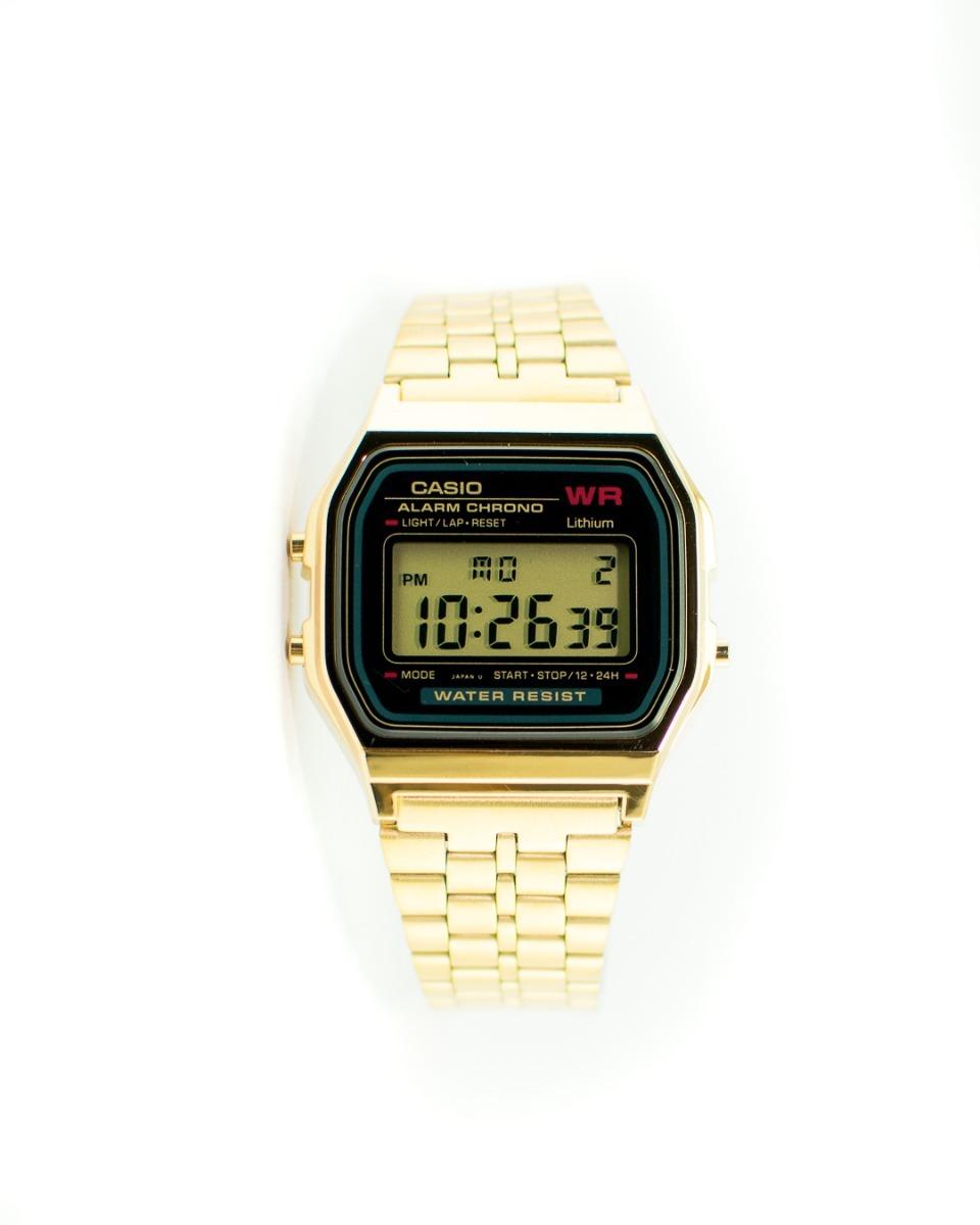 Vintage Retro Hombre Casio Classic Reloj Color Doradooro wlkuOPiXZT