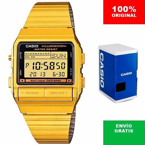 d21e72536028 Reloj Casio Retro Vintage Db380 Dorado- 100% Original Cfmx ...