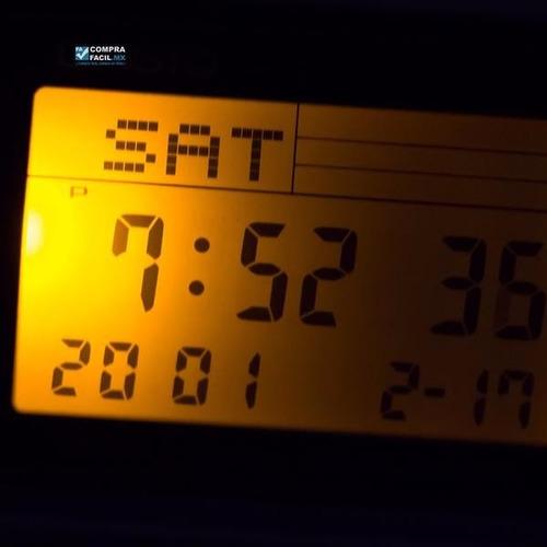 reloj casio retro vintage dbc611 plata - calculadora - cfmx