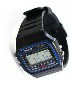Reloj Casio Retro Vintage Negro F 91w