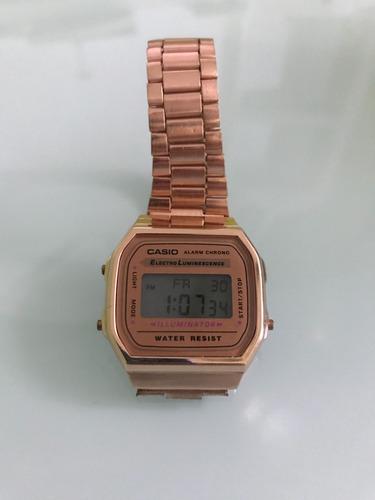 reloj casio rosa, nuevo original vintage retro