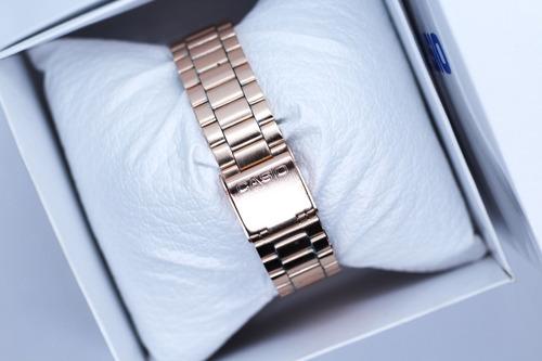 reloj casio rosa / rose a168 vintage envío gratis