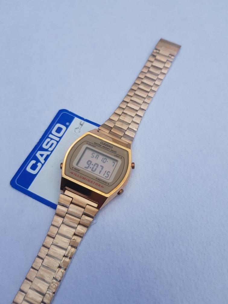 fe6d0215cc5b Reloj Casio Rosa Rose Gold Vintage B640w -   429.00 en Mercado Libre