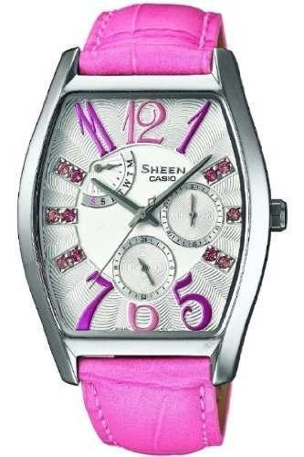 reloj casio rosado