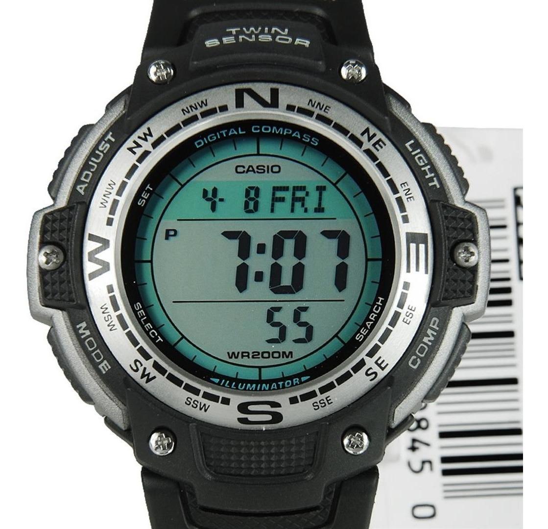 Termometro Casio Sgw Garantia 5 Alarmas Brujula 100 Reloj QxBhCtdsr