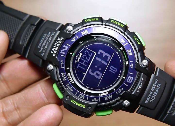 7b963fb53b57 Reloj Casio Sgw-1000 Altímetro