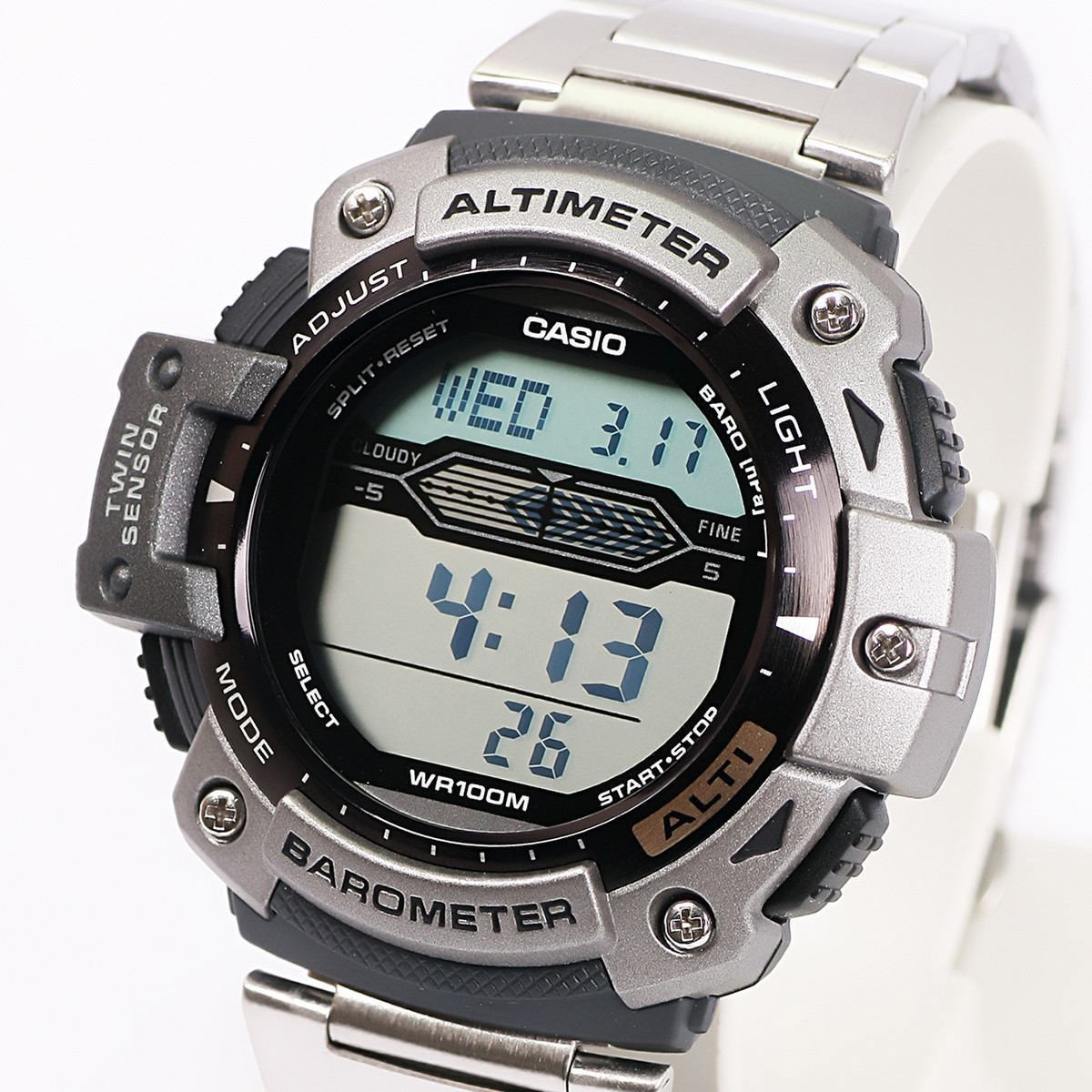 3b97591498de reloj casio sgw 300 acero altimetro barometro termometro+obq. Cargando zoom.