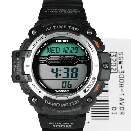 reloj casio sgw 300 altimetro barometro termometro original
