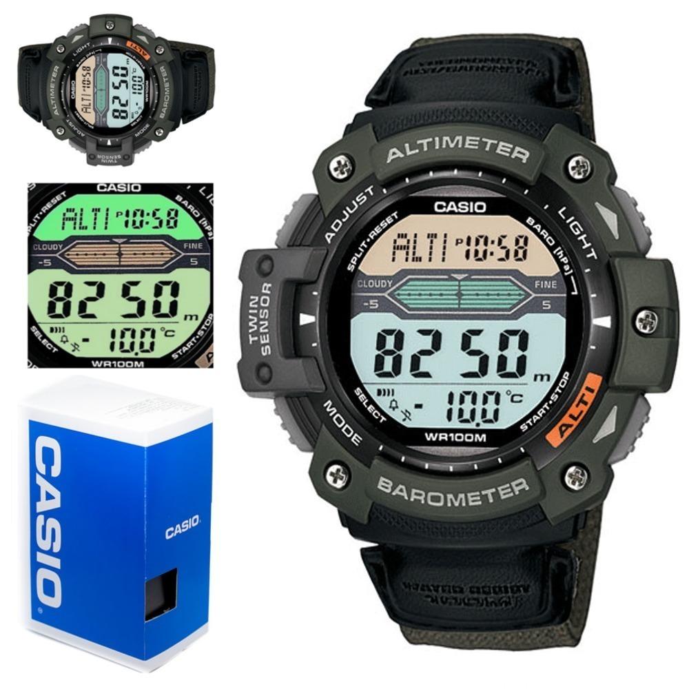 Casio Reloj 300hb Sgw 3av Lona Termometro Baromtro Altimetro QxoErCWdeB
