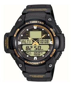 400 Sgw AltimetroBarometroTermometro Casio Reloj Goma OXiPkZuT