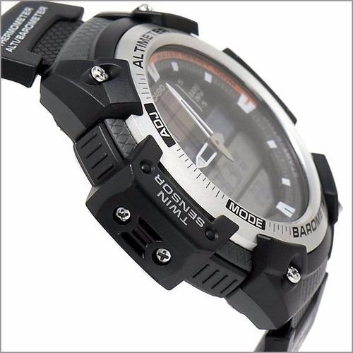 reloj casio sgw-400h altimetro barometro termometro 100m wr