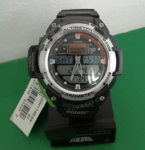 reloj casio sgw-400hd altimetro barometro termometro nuevo