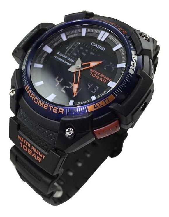 450h Stock Reloj Sgw Barometro Casio Altimetro TempEn kw80OPXn