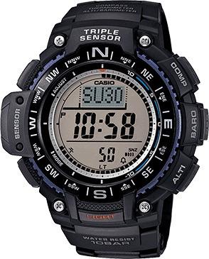 reloj casio sgw1000 barómetro altímetro termómetro brújula