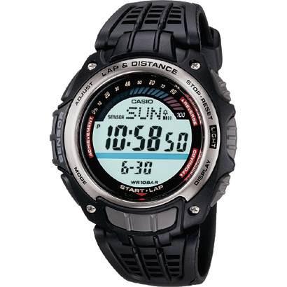 reloj casio sgw200 conteo calorias podometro 100m 5 alarmas